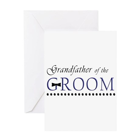 Grandfather of the Groom Greeting Card