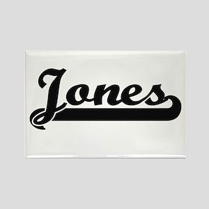 Jones surname classic retro design Magnets