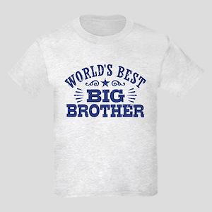 World's Best Big Brother Kids Light T-Shirt