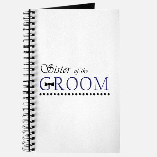 Sister of the Groom Journal