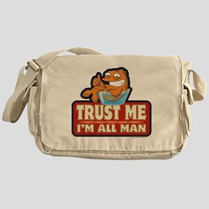 American Dad Trust Me Messenger Bag