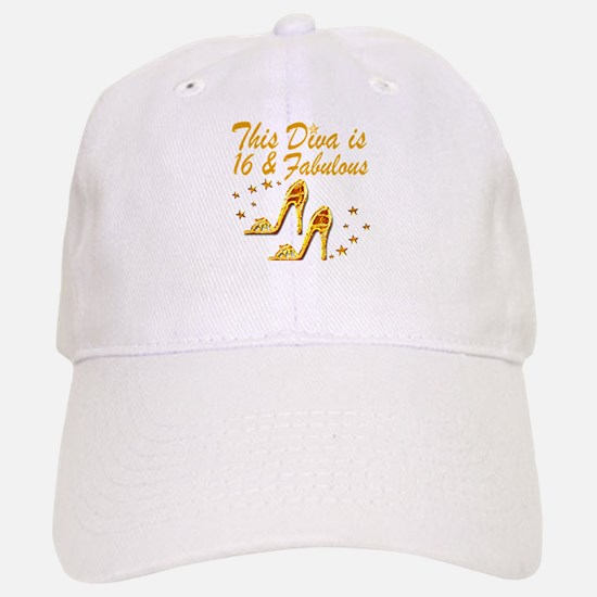 DAZZLING 16TH DIVA Baseball Baseball Cap