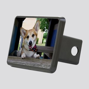 I'm here to make your day  Rectangular Hitch Cover