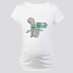 American Dad Girlfriend Maternity T-Shirt