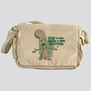 American Dad Girlfriend Messenger Bag