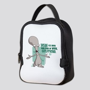 American Dad Girlfriend Neoprene Lunch Bag