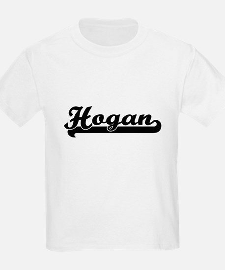 Hogan surname classic retro design T-Shirt
