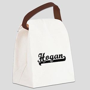 Hogan surname classic retro desig Canvas Lunch Bag