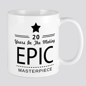 20th Birthday 20 Years Old Mug
