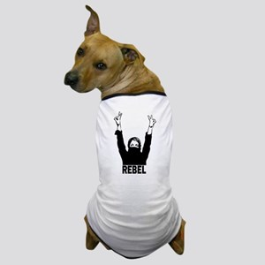 Rebel girl Dog T-Shirt
