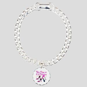 DAZZLING 16TH DIVA Charm Bracelet, One Charm