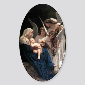 Song of the Angels Sticker (Oval)