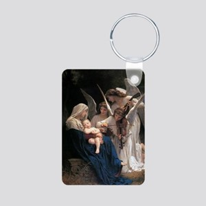 Song of the Angels Aluminum Photo Keychain