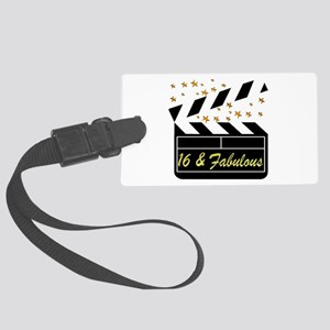 DAZZLING 16TH DIVA Large Luggage Tag