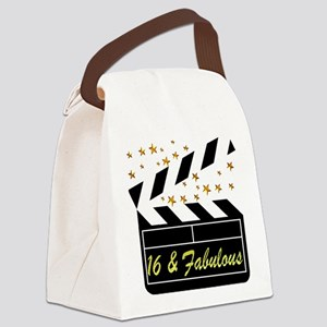 DAZZLING 16TH DIVA Canvas Lunch Bag