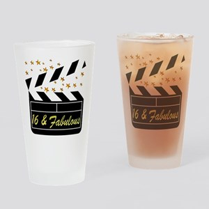 DAZZLING 16TH DIVA Drinking Glass