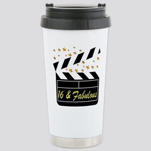DAZZLING 16TH DIVA Stainless Steel Travel Mug