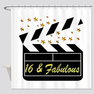 DAZZLING 16TH DIVA Shower Curtain