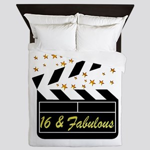 DAZZLING 16TH DIVA Queen Duvet
