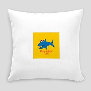 Shark Holiday Everyday Pillow