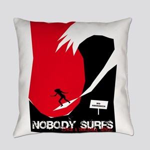 NJNobodySurfs10 Everyday Pillow