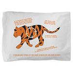 Tiger Facts Pillow Sham