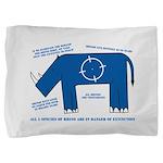 Rhino Facts Pillow Sham