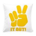 peaceitout10 Everyday Pillow