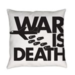 War is Death Everyday Pillow
