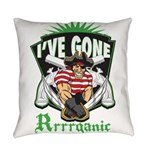 Organic Pirate Everyday Pillow