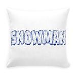 Snowman10x8 Everyday Pillow