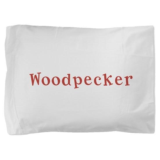 Woodpecker10x8.png Pillow Sham