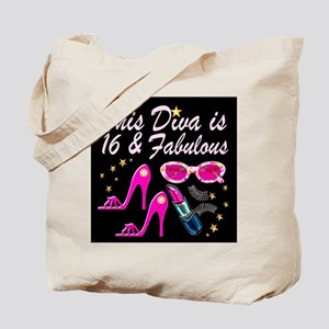 SNAZZY 16TH DIVA Tote Bag