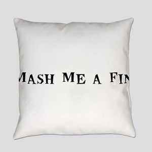 MashMeaFin10x8 Everyday Pillow