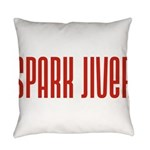 SparkJiver10x8 Everyday Pillow