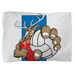 Bucks County Volleyball Pillow Sham