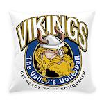 Vikings Logo Everyday Pillow