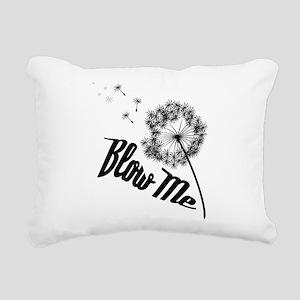 Blow Me Rectangular Canvas Pillow