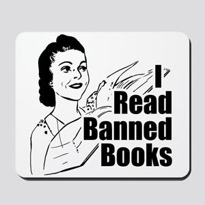 Read Banned Books Mousepad