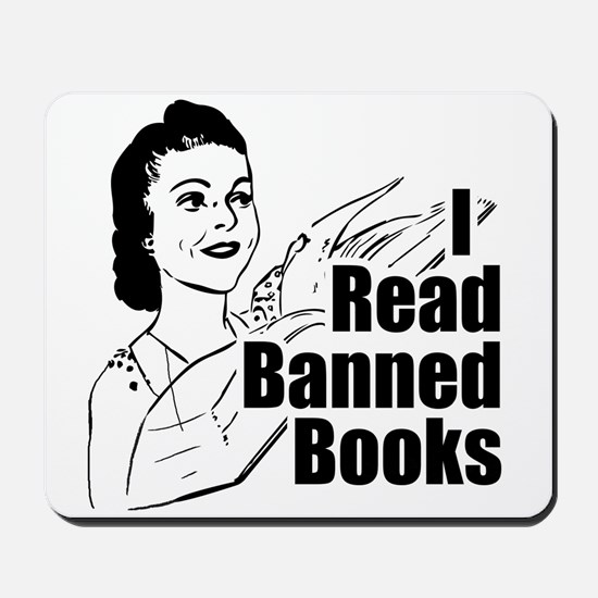 Read Banned Books Mousepad