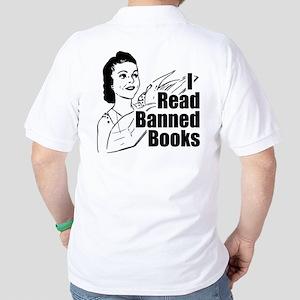 Read Banned Books Golf Shirt