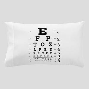 Eye Chart bold Pillow Case