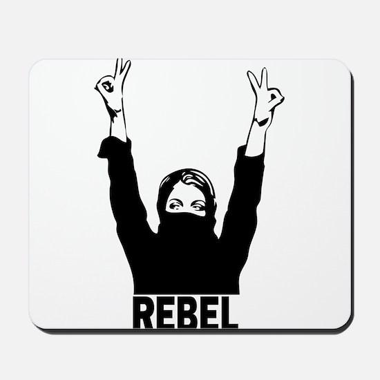 Rebel girl Mousepad