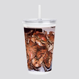 Crab Feast Acrylic Double-wall Tumbler