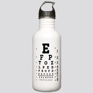 Eye Chart bold Stainless Water Bottle 1.0L