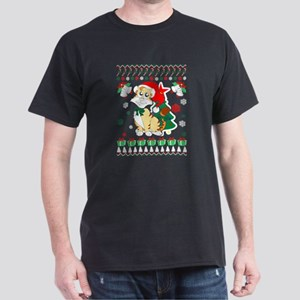 Cat Ugly Christmas Sweater T-Shirt