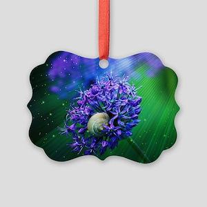 Allium Picture Ornament
