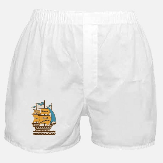 Pro Immigration Boxer Shorts