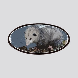 Opossum on a Gnarley Branch Patch