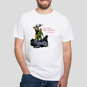 Che Guevara Quote White T-Shirt